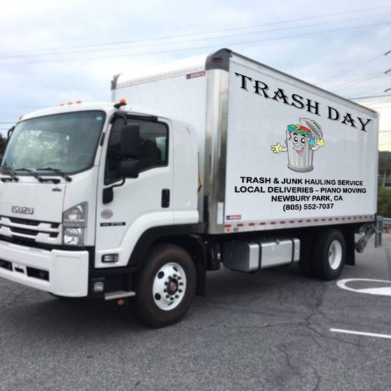 trash day truck